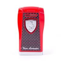 Зажигалка Lamborghini Agro Black & Red Carbon