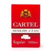 Фильтры для самокруток Cartel Regular 8мм 100 шт