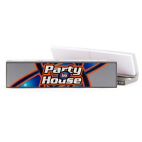 Party in House King Size Slim Silver Set