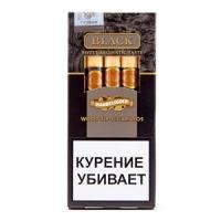 Сигариллы Handelsgold Rum Black Wood Tip