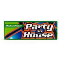 Бумага сигаретная Party in House Green Medium