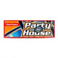 Бумага сигаретная Party in House Red Thin
