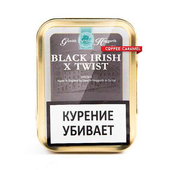 Трубочный табак Gawith Hoggarth Black Irish X Twist Банка 50 г