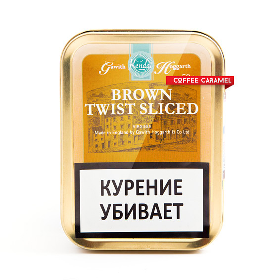 Трубочный табак Gawith Hoggarth Brown Twist Sliced Банка 50 г