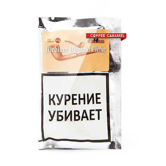 Трубочный табак Samuel Gawith Medium Virginia Flake кисет 40 г